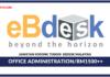 Jawatan Kosong Terkini Office Administration Di EBdesk Malaysia
