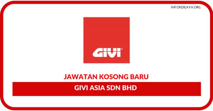 Jawatan Kosong Terkini Givi Asia Sdn Bhd