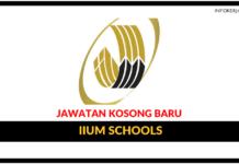 Jawatan Kosong Terkini IIUM Schools