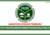 Jawatan Kosong Terkini Institut Penyelidikan Perhutanan Malaysia (FRIM)