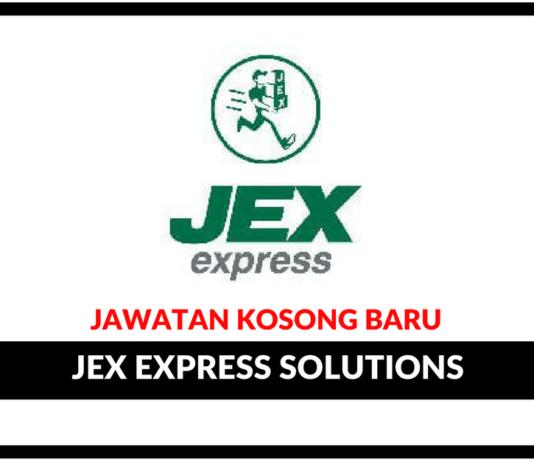 Jawatan Kosong Terkini Jex Express Solutions