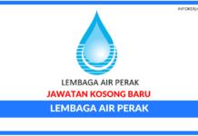 Jawatan Kosong Terkini Lembaga Air Perak