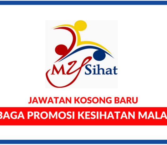 Jawatan Kosong Terkini Lembaga Promosi Kesihatan Malaysia (MySihat)