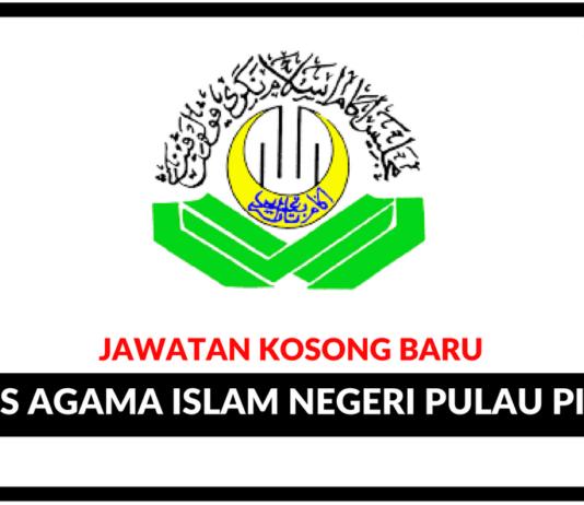 Jawatan Kosong Terkini Majlis Agama Islam Negeri Pulau Pinang