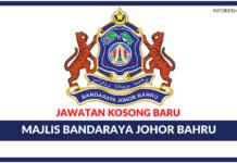 Jawatan Kosong Terkini Majlis Bandaraya Johor Bahru