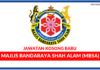Jawatan Kosong Terkini Majlis Bandaraya Shah Alam (MBSA)