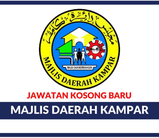 Jawatan Kosong Terkini Majlis Daerah Kampar