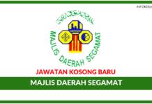 Jawatan Kosong Terkini Majlis Daerah Segamat