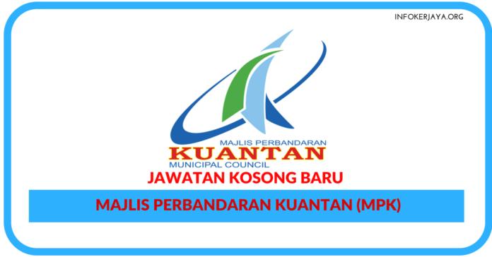 Jawatan Kosong Terkini Majlis Perbandaran Kuantan (MPK)