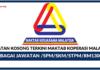Jawatan Kosong Terkini Maktab Koperasi Malaysia (MKM)