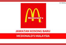 Jawatan Kosong Terkini McDonald's Malaysia