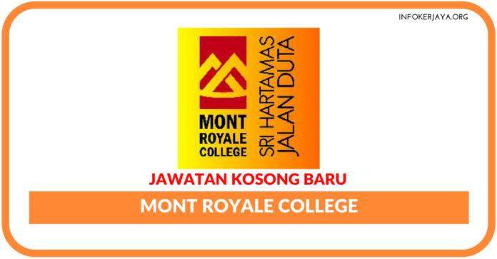 Jawatan Kosong Terkini Mont Royale College