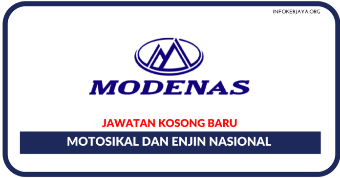 Jawatan Kosong Terkini Motosikal Dan Enjin Nasional