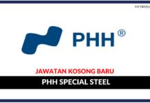 Jawatan Kosong Terkini PHH Special Steel Sdn. Bhd
