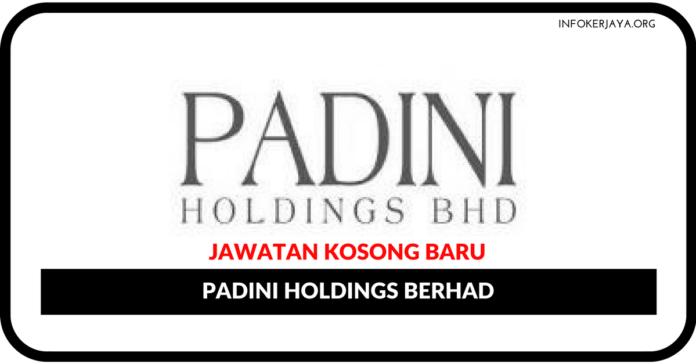 Jawatan Kosong Terkini Padini Holdings Berhad