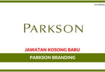 Jawatan Kosong Terkini Parkson Branding