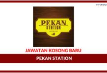 Jawatan Kosong Terkini Pekan Station