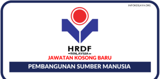Jawatan Kosong Terkini Pembangunan Sumber Manusia Berhad (HRDF)