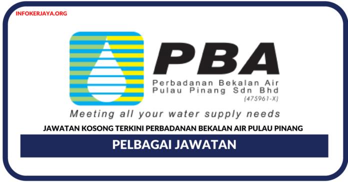 Jawatan Kosong Terkini Perbadanan Bekalan Air Pulau Pinang