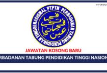 Jawatan Kosong Terkini Perbadanan Tabung Pendidikan Tinggi Nasional (PTPTN)