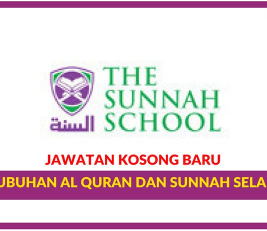 Jawatan Kosong Terkini Pertubuhan Al Quran Dan Sunnah Selangor