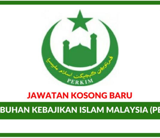 Jawatan Kosong Terkini Pertubuhan Kebajikan Islam Malaysia (PERKIM)