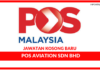 Jawatan Kosong Terkini Pos Aviation Sdn Bhd