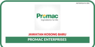 Jawatan Kosong Terkini Promac Enterprises