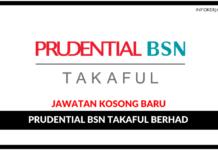 Jawatan Kosong Terkini Prudential BSN Takaful Berhad