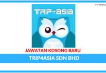 Jawatan Kosong Terkini Trip4asia Sdn Bhd