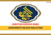 Jawatan Kosong Terkini Universiti Islam Malaysia