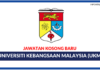 Jawatan Kosong Terkini Universiti Kebangsaan Malaysia (UKM)