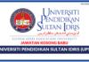 Jawatan Kosong Terkini Universiti Pendidikan Sultan Idris (UPSI)