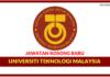 Jawatan Kosong Terkini Universiti Teknologi Malaysia