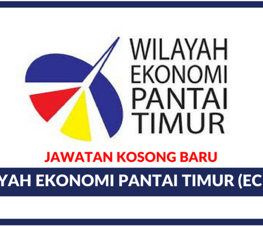 Jawatan Kosong Terkini Wilayah Ekonomi Pantai Timur (ECERDC)