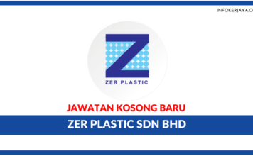 Jawatan Kosong Terkini ZER Plastic