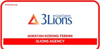 Jawatan Kosong Terkini 3Lions Agency