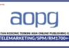 Jawatan Kosong Terkini Asia Online Publishing Group