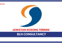 Jawatan Kosong Terkini BLN Consultancy