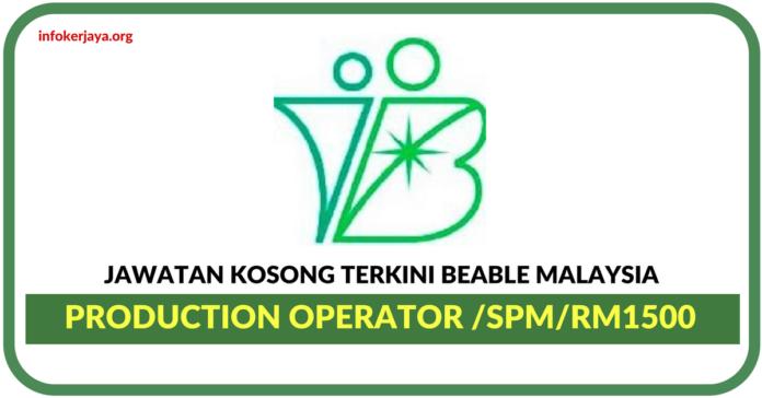 Jawatan Kosong Terkini Beable Malaysia