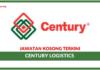 Jawatan Kosong Terkini Century Logistics Holdings Berhad