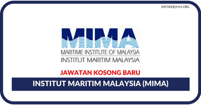 Jawatan Kosong Terkini Institut Maritim Malaysia (MIMA)