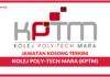 Jawatan Kosong Terkini Kolej Poly-Tech MARA (KPTM)
