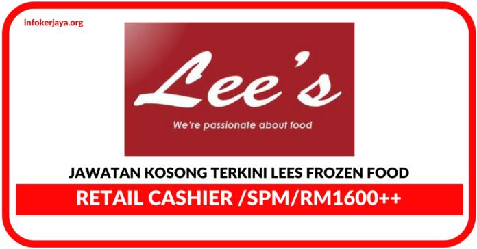 Jawatan Kosong Terkini Lees Frozen Food