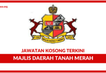 Jawatan Kosong Terkini Majlis Daerah Tanah Merah