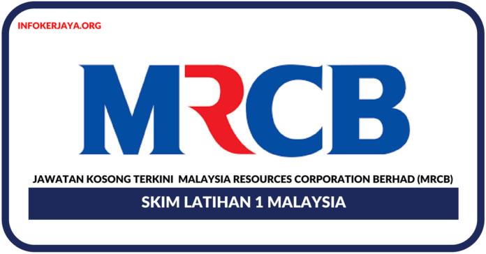 Jawatan Kosong Terkini Malaysia Resources Corporation Berhad (MRCB)