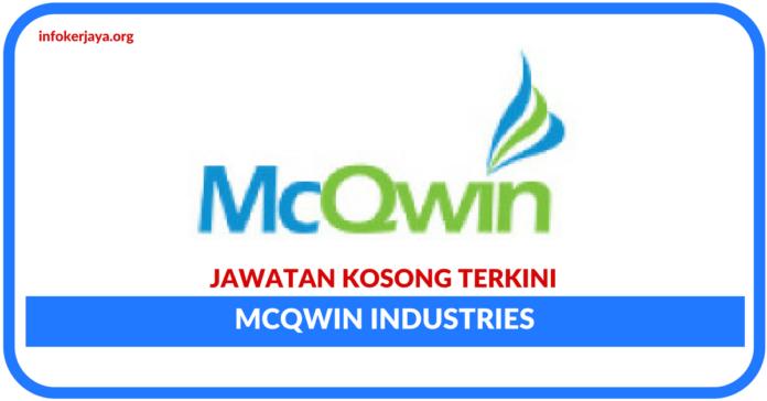 Jawatan Kosong Terkini McQwin Industries