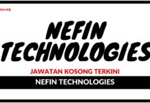 Jawatan Kosong Terkini NEFIN Technologies