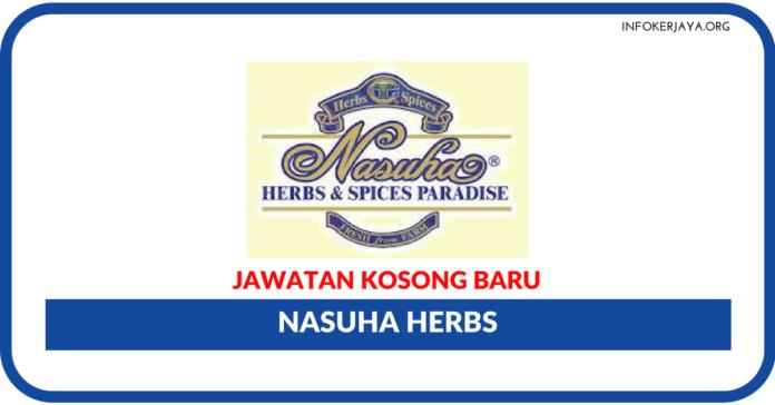 Jawatan Kosong Terkini Nasuha Herbs