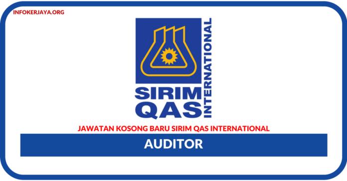 Jawatan Kosong Terkini SIRIM QAS International Sdn Bhd
